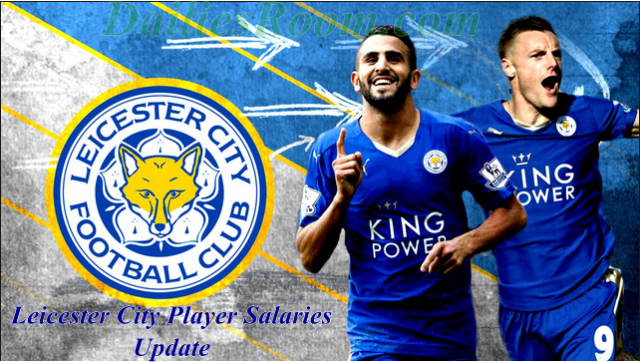 Leicester City Player Salaries Update / Jamie Vardy highest paid footballers For LCFC
