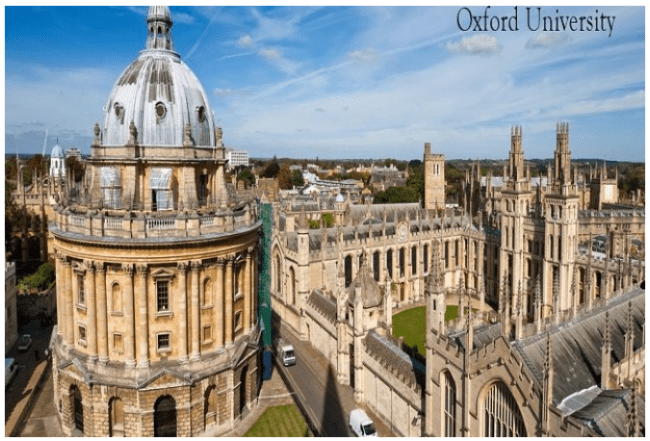 UK Oxford University Ranked World Best / 2016-17 World University Rankings