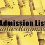 Released admission list for 2016/2017 | institutions that released their list