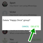 How to Delete Whatsapp Group Permanently – Whatsapp Group chat Delete Steps
