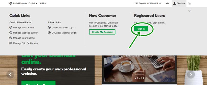 www.goDaddy.com login - Godaddy email login uk - GoDaddy Email Setup