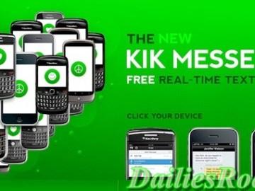 kik messenger app - sign up   free download
