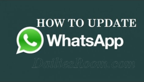 How to update whatsapp on android phone