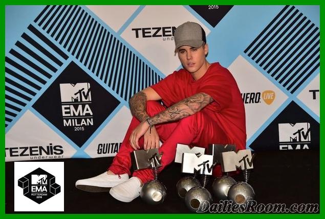 2016 MTV Europe Music Awards Winners /Nominations - MTV EMAs 2016