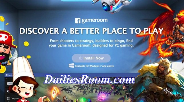 Facebook Games Available for window 7 - Install Facebook Gameroom
