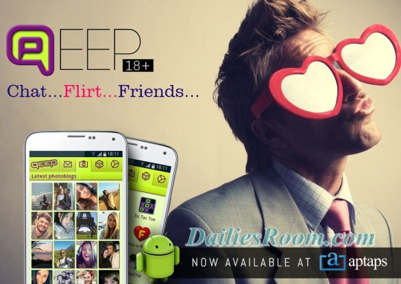 Install Qeep app free for Android - chat, Flirt, and make new Friends