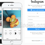 Instagram PC Version Sign Up Registration – Log in Instagram with Facebook