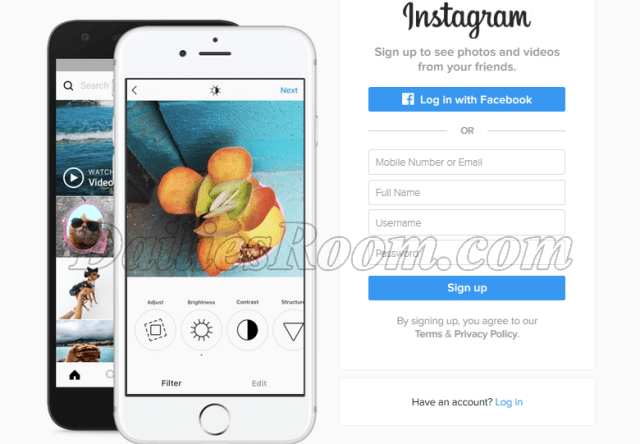 Instagram Login With Facebook Account or Password Step by Step Guide
