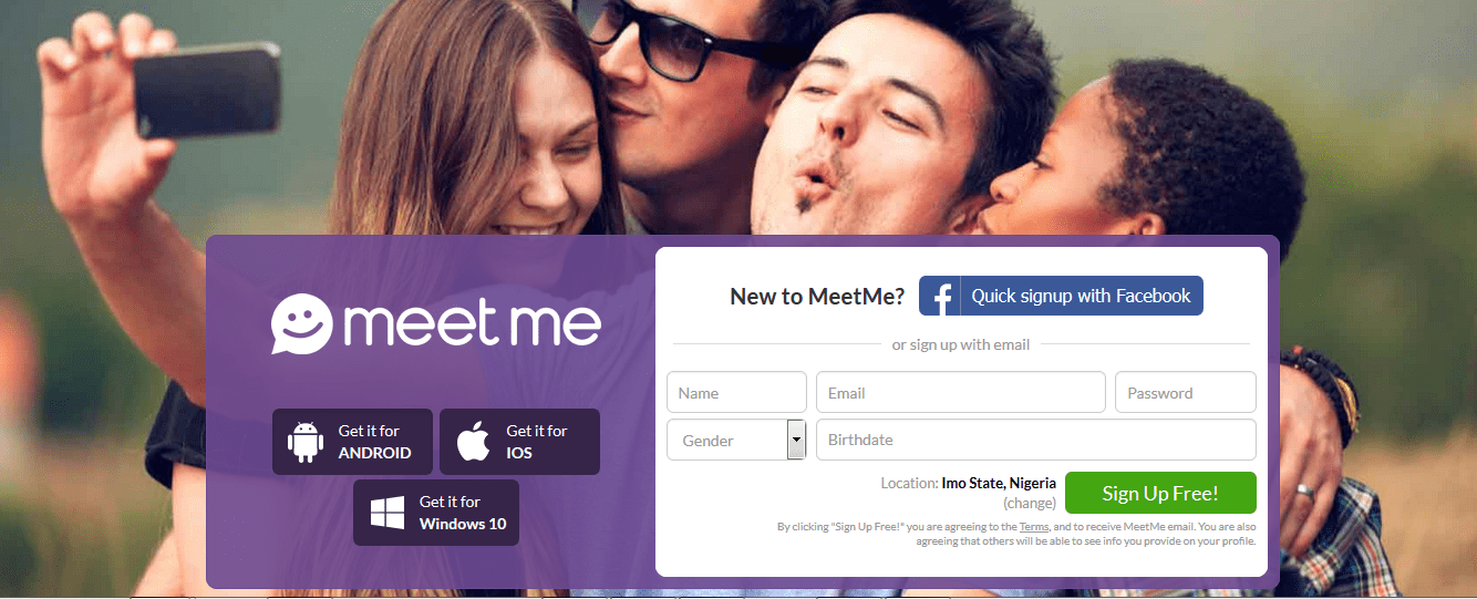 Free dating sites like meetme