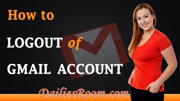 How to Logout Gmail Account on Android Device | Log Off Your Gmail | Removing Gmail