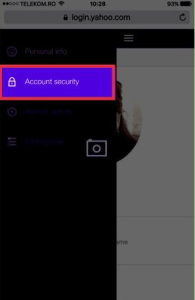 How to Change Yahoo account password on mobile device | Reset a forgotten password