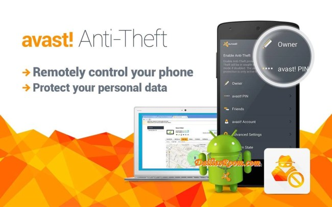 Download and Install Avast Anti-theft App Free for Android | Locate and track your lost Phone