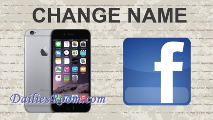 How to Change Facebook Name Using Mobile Browser Or Facebook App