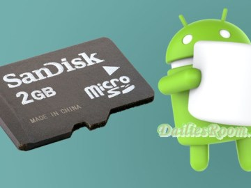 Steps in moving Android Apps to SD Card | Android Internal storage