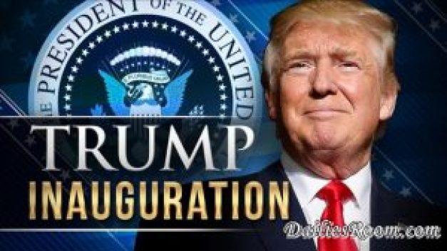 Inauguration Day - President Donald trump inauguration ceremony | US 45th President