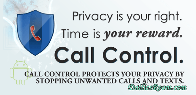 Download and install Call Control - Call Blocker Apk Free For Android | Block Unwanted/Spam Calls