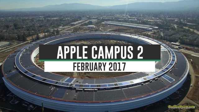Checkout Apple Spaceship campus 2 in Cupertino, California | Future headquarters of Apple Inc.