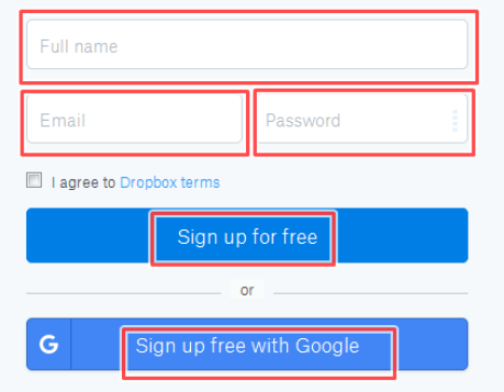 Sign Up for Dropbox Account Free | Dropbox Account free Registration/login | Dropbox App Download