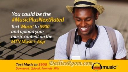 Mtn's biggest Online Music free Sign Up | Mtn Online Music Plus free Registration | Mtn Music Plus App Download | www.musicplus.mtnonline.com