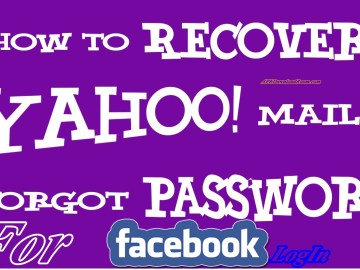 How To Recover Yahoo Mail Account Password to Create Facebook Account | Reset Yahoo Password
