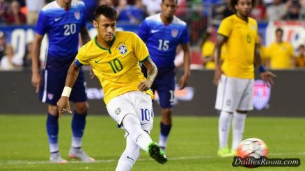2018 FIFA World Cup Qualifying - Brazil beats Paraguay to seal their Place in World Cup Finals