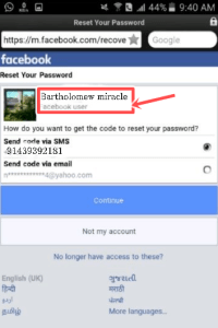 Easy way to find someone on Facebook Using Phone Number | Facebook Search Box