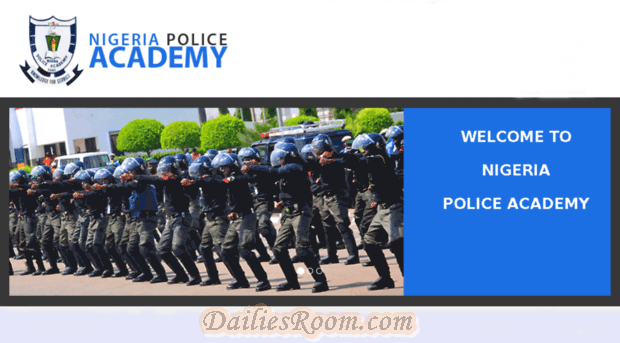 Nigeria Police Academy 5th Regular Course online Application form 2017 | Admission Requirements
