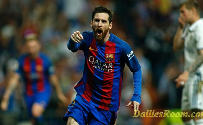 Lionel Messi Sets EL Classico Record; Scores 500 Goals for Barcelona