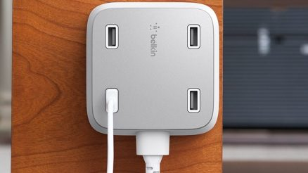 New Belkin's Family Rockstar Charger | 4-port USB charger {Features}