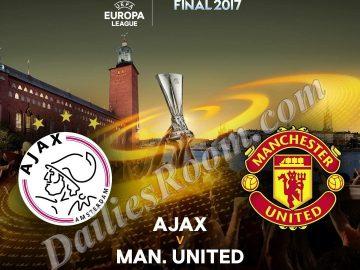 2017 UEFA Europa League Final; Ajax Vs Manchester United