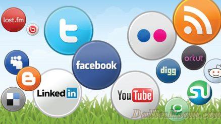 Top 12 Popular Social Media Sites Rankings in 2017; Monthly Visitors
