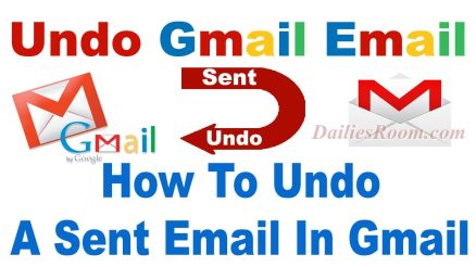 How to Undo Sent Gmail Message In PC   unsend Messages in Gmail