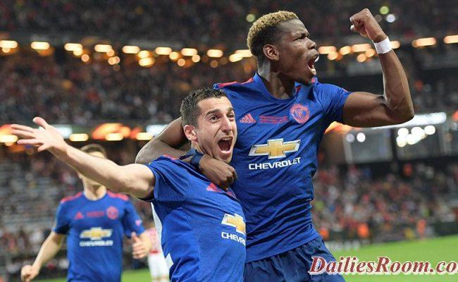 Manchester United Wins 2016-2017 UEFA Europa league Final