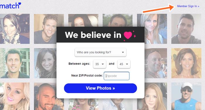 Free Dating site uk.match.com Login