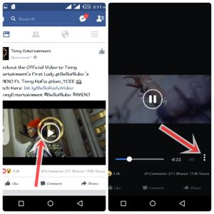 How to Save Facebook App Videos for Offline Watch on Android Device