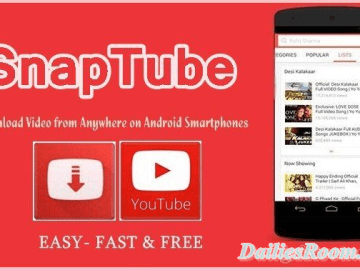 Download and Install Snaptube App free for Android Device