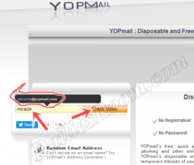 SignUp Yopmail.com - Yopmail Email account Registration | Yopmail Login