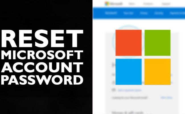 How to Reset Microsoft Account Password   Login Password Reset