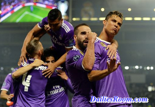 Real Madrid Wins 2017 UEFA Champions League Final in Cardiff