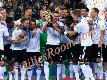 FIFA Cup 2017: Germany Wins first Confederations Cup Title