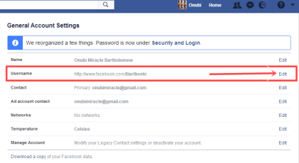 How to Change Facebook Username Via Mobile/PC | FB.com Username