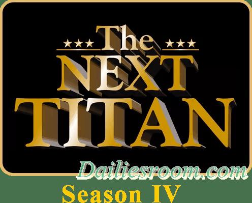 The Next Titan Season 4 Registration Form | How to Apply 'The Next Titan'