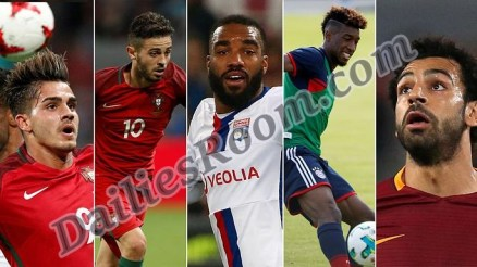 List of Top 20 Summer Transfers 2017/2018; Market Value, Transfer Fee