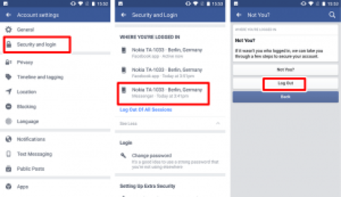 How to Log Out of Facebook Messenger App on Android Device