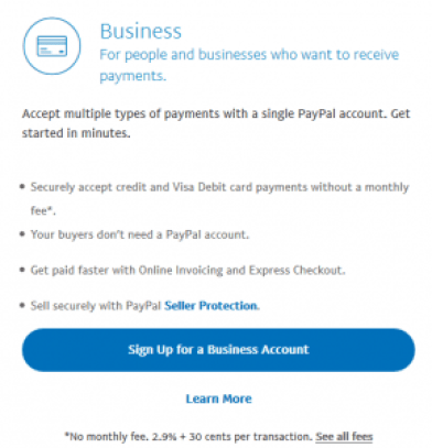 PayPal Account SignUp Process | PayPal Account Free Registration