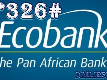 All Ecobank Nigeria Transfer Codes, Buy Airtime, Check Balance via *326#