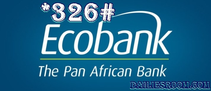All Ecobank Nigeria Transfer Codes, Buy Airtime, Check Balance via *326#