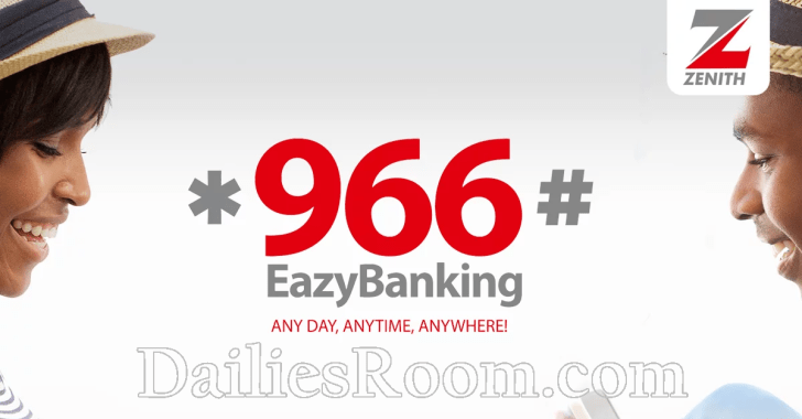 *966# EazyBanking - Zenith Bank Transfer Codes | Account Balance Code