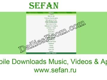 www.sefan.ru - Free Sefan Games Download | Videos | Music | Wallpapers