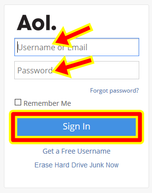 Sign Up Free AOL Email Account | AOL Mail Login UK